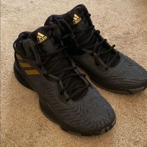 Adidas High top basketball shoes
